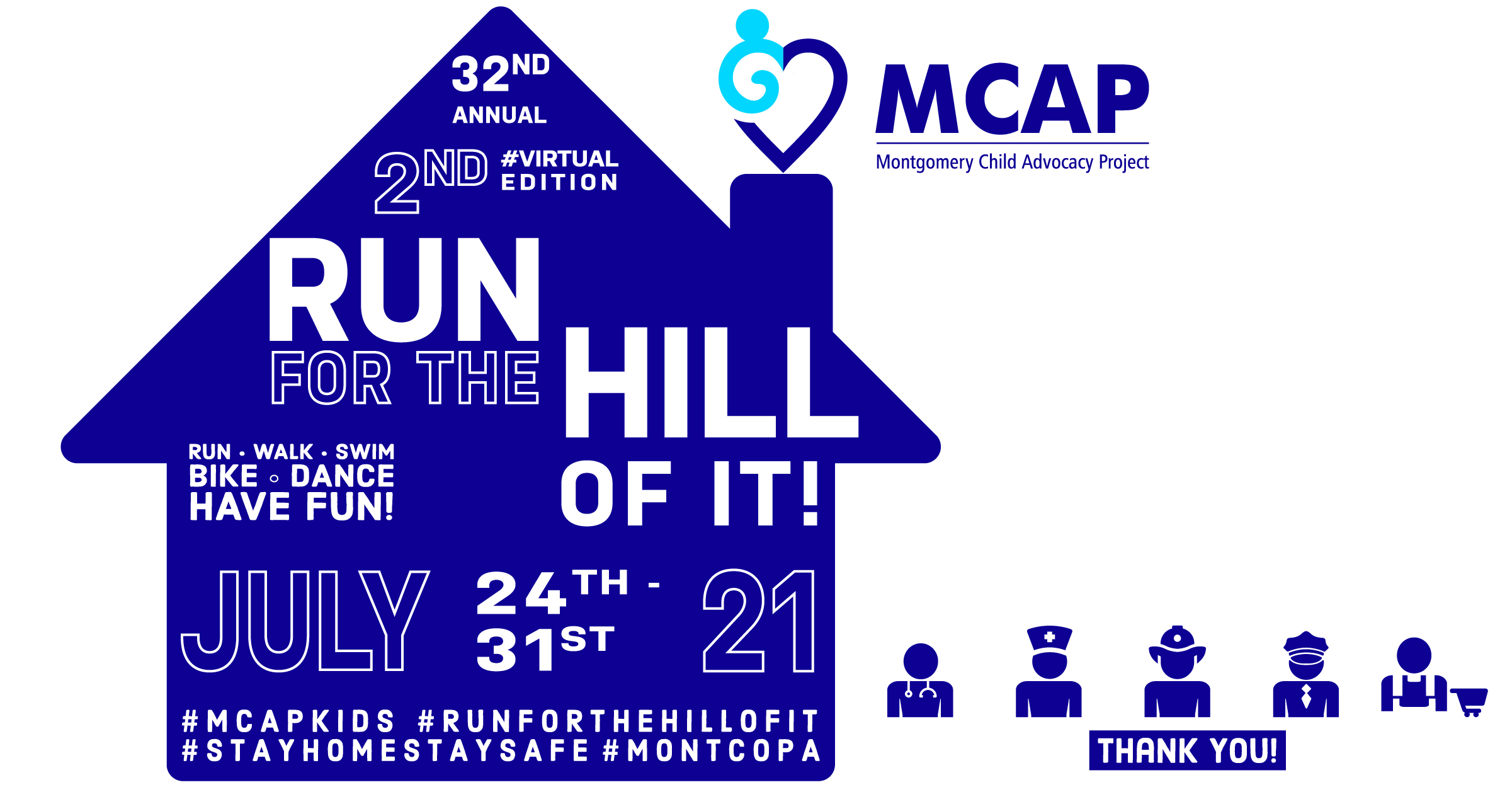 2nd VIRTUAL Run For The Hill Of It!