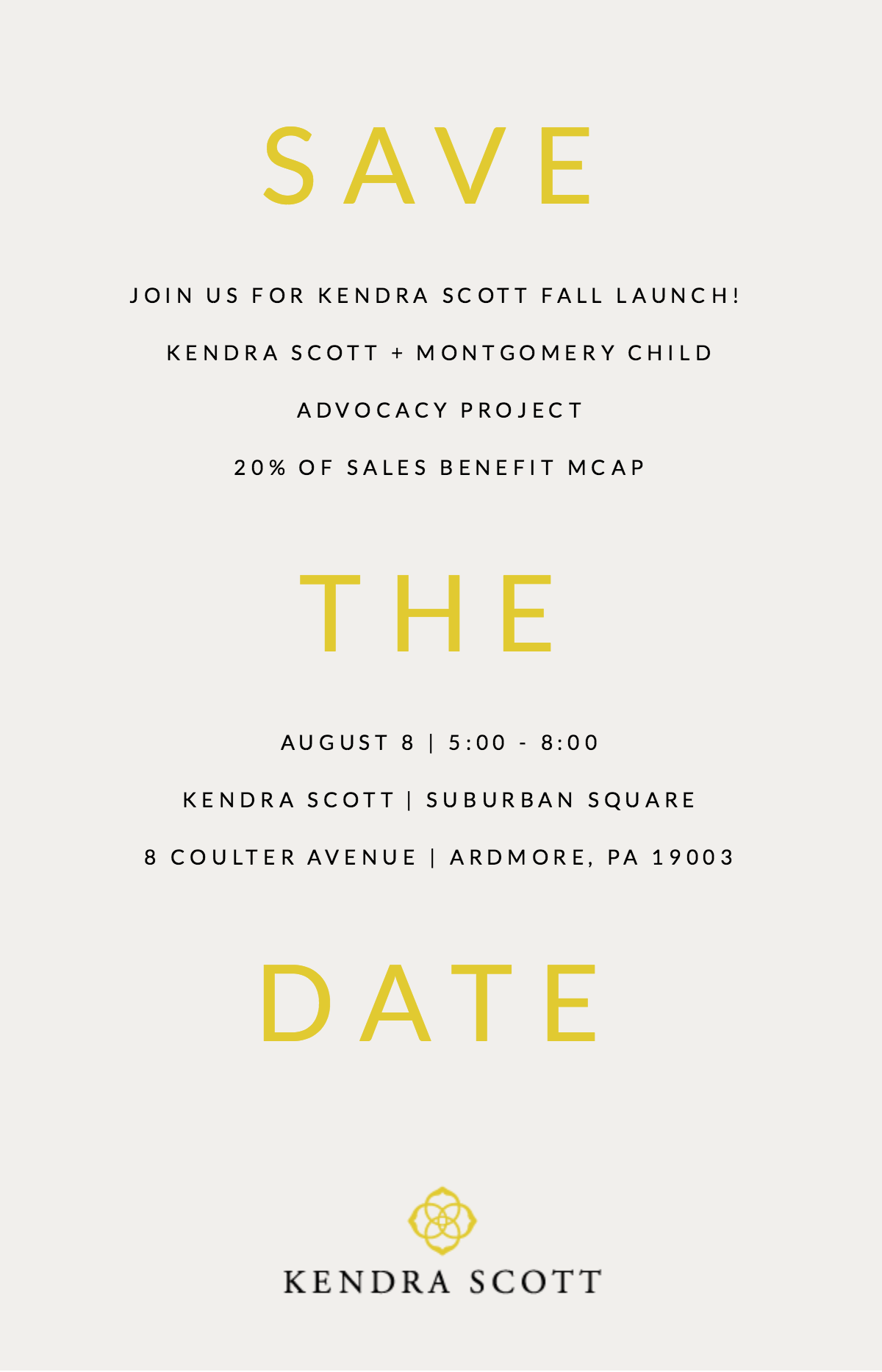 Kendra Scott Fall Launch